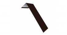 Металлические доборные элементы для фасада в Москве Планка лобовая/околооконная простая 190х50